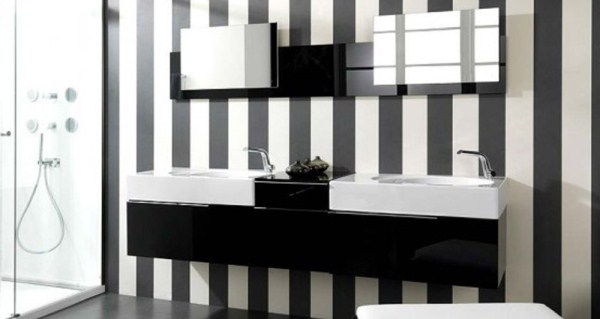 Add Stripes To Make Your Walls Look Big