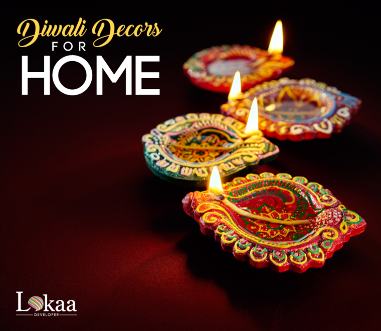 Amazing diwali decoration ideas for home lokaa blog for Home decorations ideas for diwali