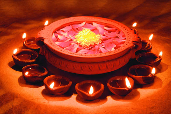 No Matter How Many Years Into The Future, The Traditional Diyas Will Always  Add An Aura Of Class And Elegance When Lit. This Diwali, Light Up Your Homes  ...