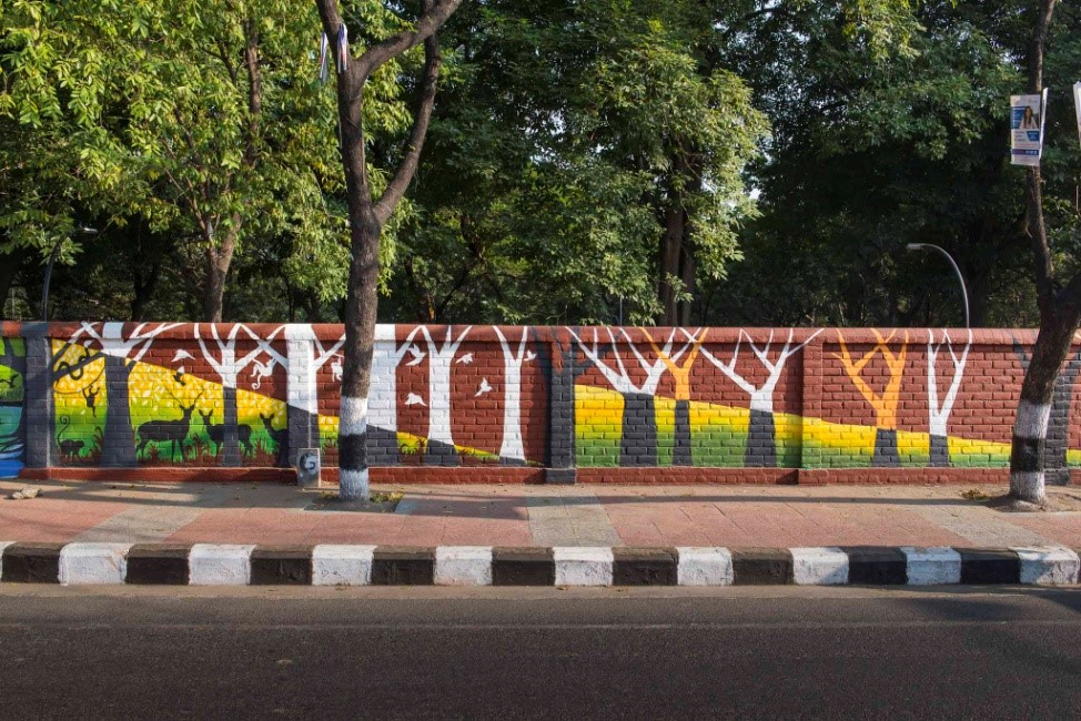 Paintbox and Anna University students painted