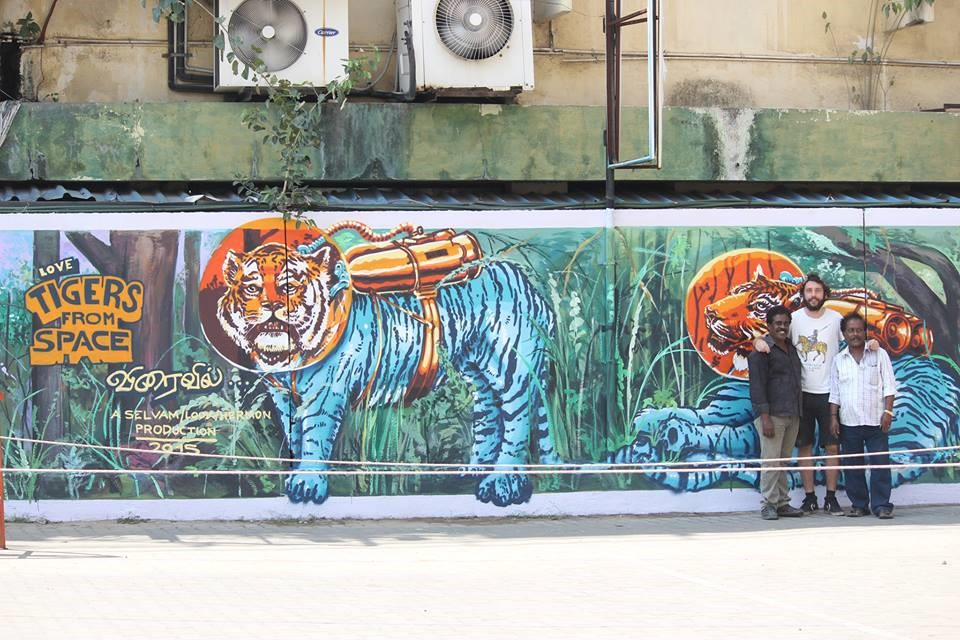 20 Pieces Of Street Art That Turn Chennai Into Incredibly Beautiful